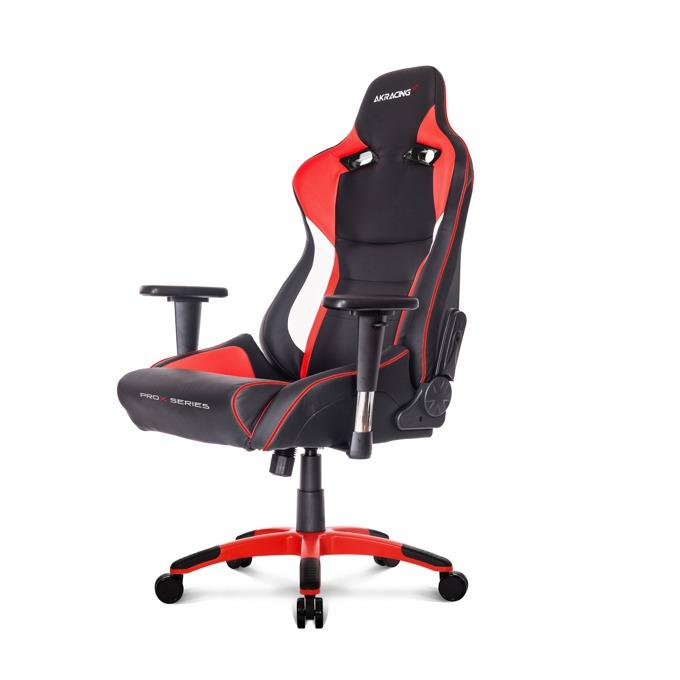 Геймърски стол AKRACING ProX, черен/червен image