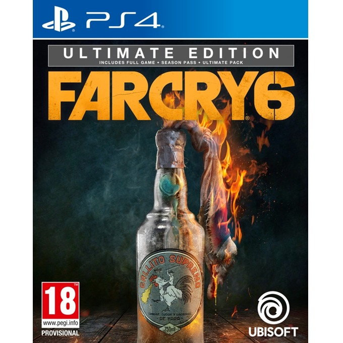 Far Cry 6 Ultimate Edition PS4 product