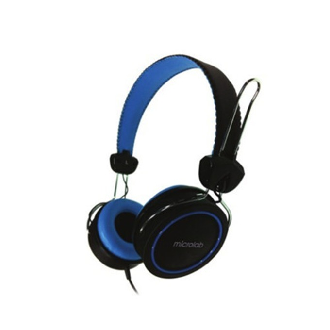 Слушалки MICROLAB K300, черни image