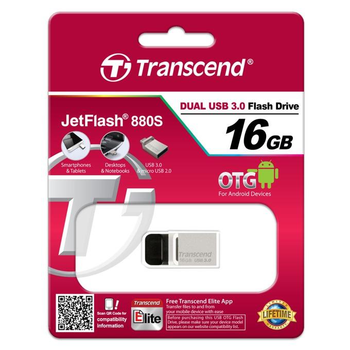 Transcend JetFlash 880 16GB TS16GJF880S