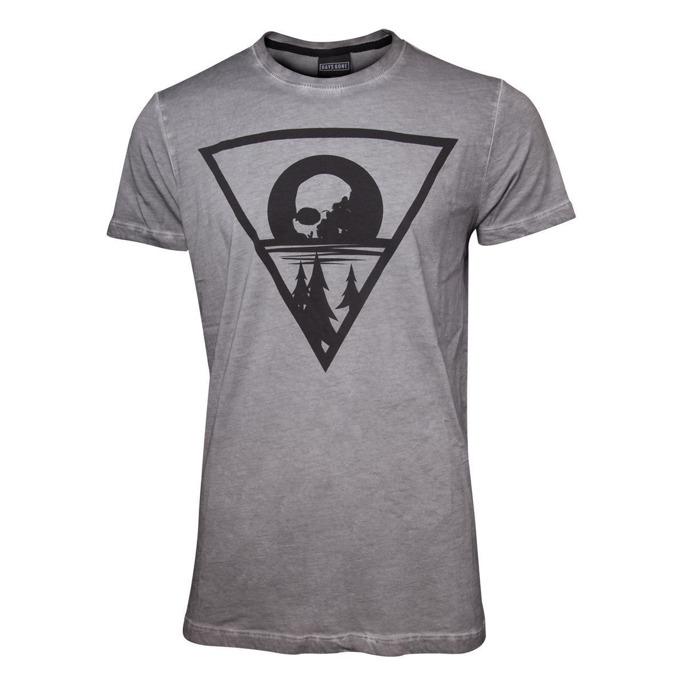 Тениска Bioworld Days Gone Morior Invictus, размер S, сива image