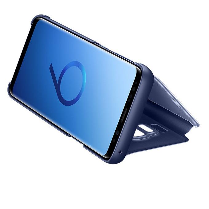 Калъф за Samsung Galaxy S9, Flip cover, поликарбонатов, Samsung EF-ZG960CVEGWW, син image