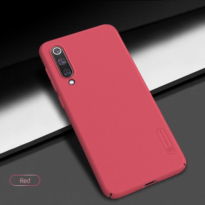 Калъф за Xiaomi Mi 9 SE, твърд гръб, Nillkin Frost Shield, червен image