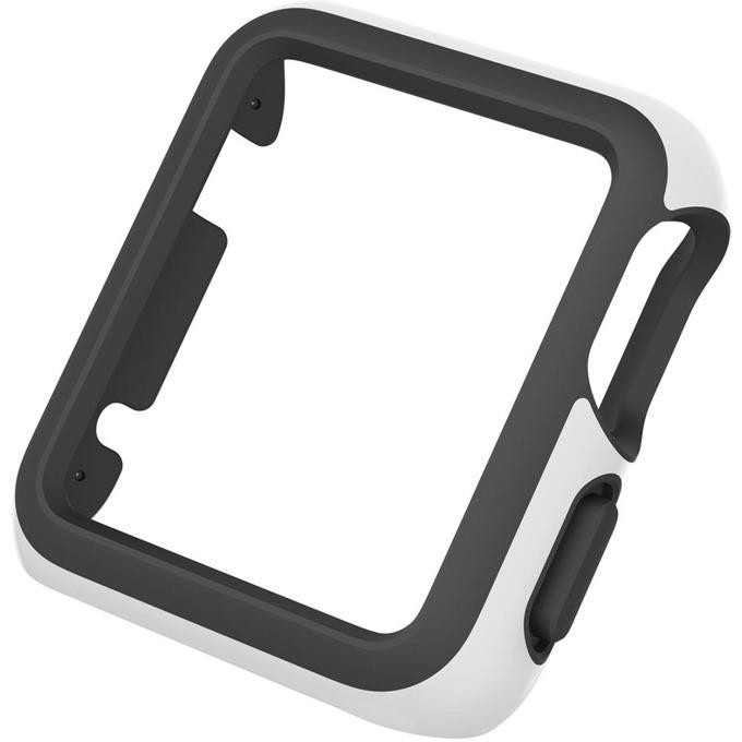 Страничен протектор Speck CandyShell Fit за Apple Watch 42mm CandyShell Fit, бял/черен image
