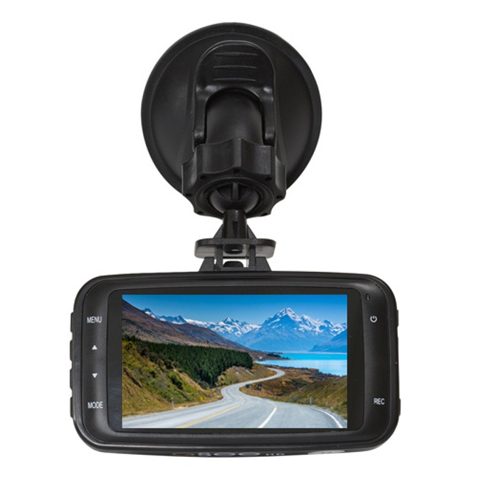 """Навигация за автомобил Q-See Q-GOHD, 2.7""""(6.85 cm) TFT LCD дисплей, microSD (up to 32GB) + 8GB microSD карта, с вградена камера 12mpix, без вградени карти, HDMI, USB image"""