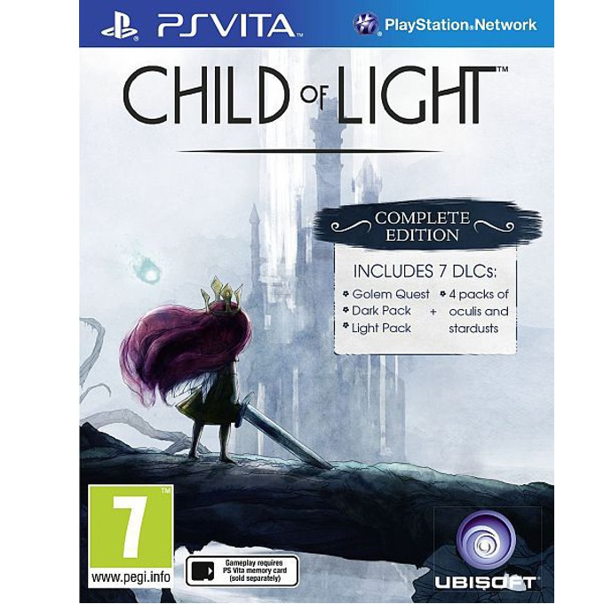 Игра за конзола Child of Light Complete Edition, включва 7 DLC пакета, зa PSVITA image