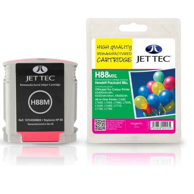 Глава за HP C9392A - Magenta - Неоригинална - Jet Tec - Заб.: 17 ml image