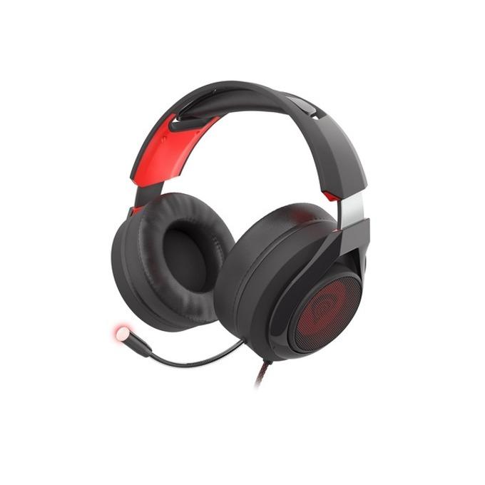 Слушалка Genesis Radon 610, микрофон, 7.1 virtual surround sound, черни/червени image