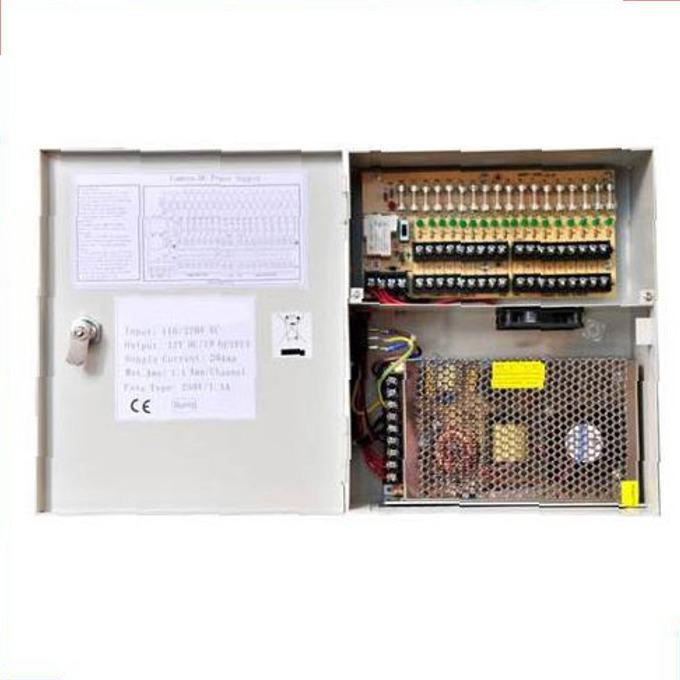 Захранващ блок Qihan QH-MPS12V10A, 12V, 10A, 9 изхода image