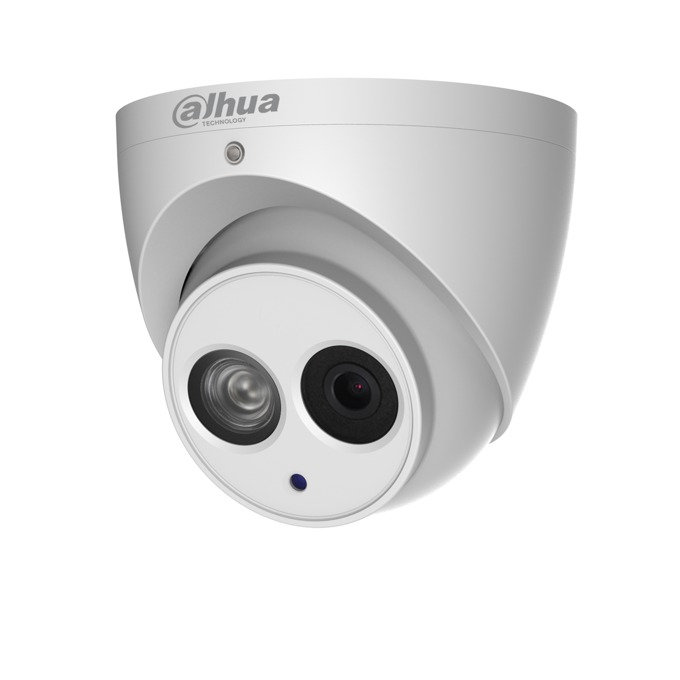 IP камера Dahua IPC-HDW4231EM-ASE-0360B, куполна, 2MP Mpix(1920x1080@50FPS), 3.6mm обектив, H.265+/H.265/H.264+/H.264, IR осветеност (до 50 метра), външна IP67 защита от вода, PoE, RJ-45, Micro SD memory, Built-in Mic image