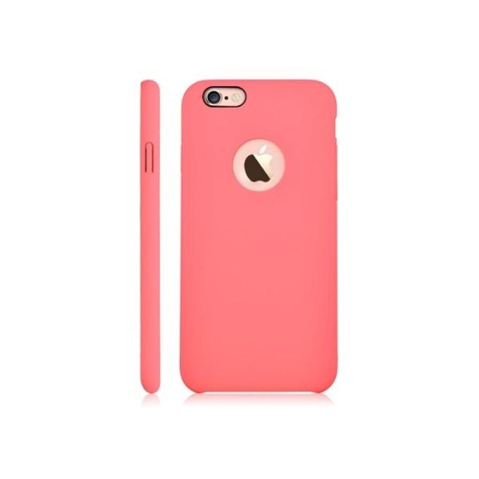 Калъф за Apple iPhone 6/6S, страничен протектор с гръб, поликарбонат, Devia CEO, розов image