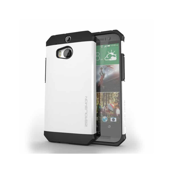 Протектор Zerolemon за HTC One M8, бял image