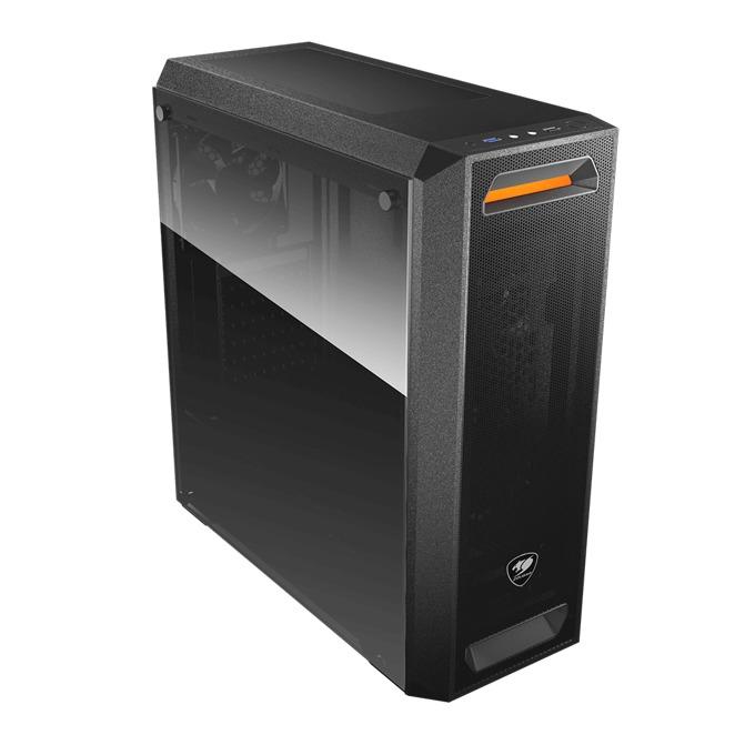 Кутия Cougar MX350 MESH, ATX, Micro-ATX, Mini-ITX, 1x USB 3.0, 1x USB 2.0, черна, без захранване image
