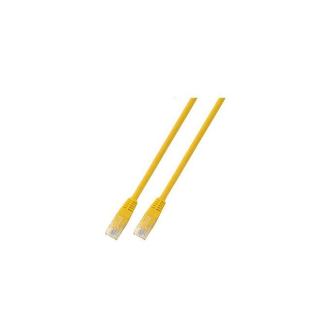 Пач кабел UTP EFB Elektronik, 5m, Cat 5E, жълт image