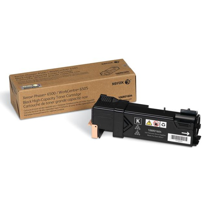 КАСЕТА ЗА XEROX Phaser 6500/WC 6505 - Black - P№ 106R01604 - заб.: 3000k image