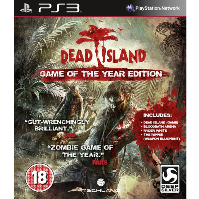 Игра за конзола Dead Island Game of the Year Edition, за PlayStation 3 image