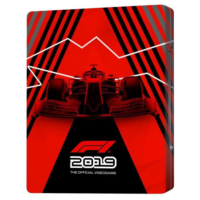Игра за конзола F1 2019 - Anniversary SteelBook Edition, за PS4 image