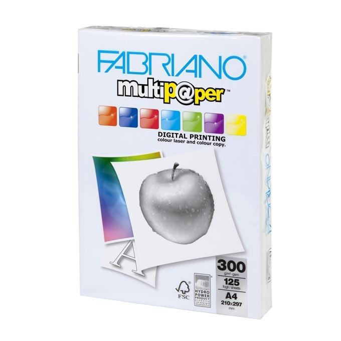 Fabriano Multipaper, A4, 300 g/m2, 125 листа