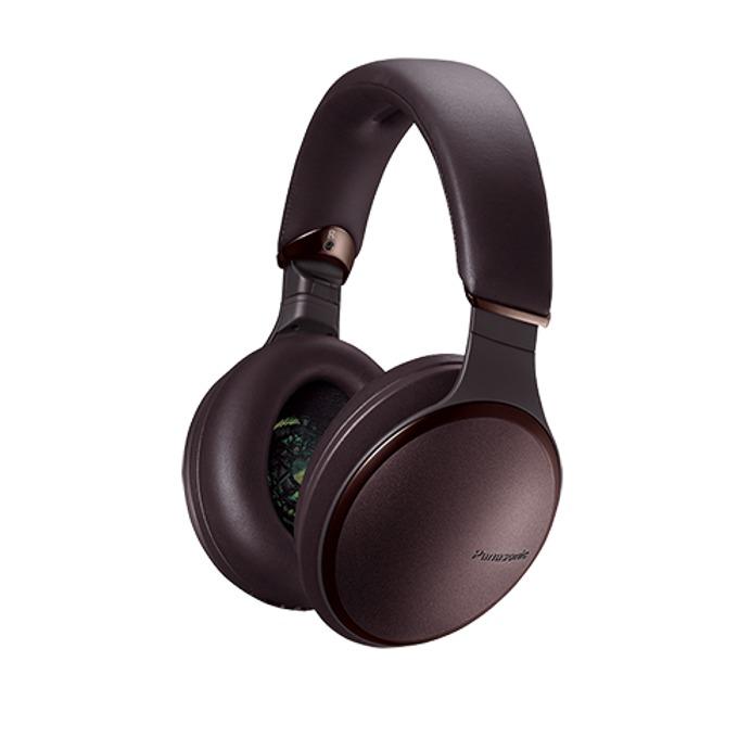 Слушалки Panasonic HD605NE-T, безжични, микрофон, Bluetooth, NFC, кафяви image