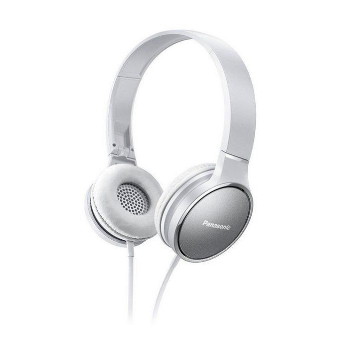 Слушалки Panasonic RP-HF300E-W, неодимов магнит, 1.2м кабел, бели image