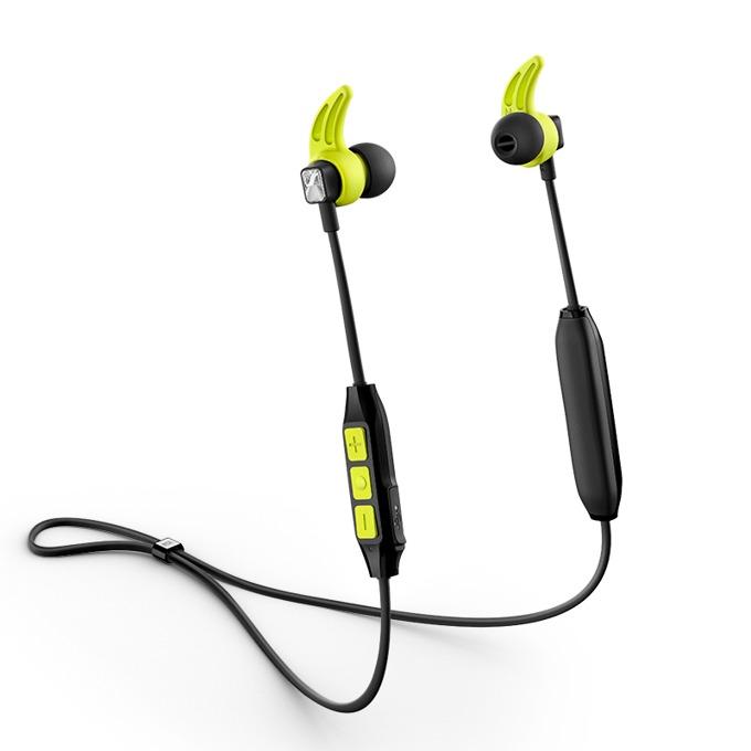 "Слушалки Sennheiser CX SPORT, безжични (Bluetooth 4.2), тип ""тапи"", Hi-Fi звук, жълти image"