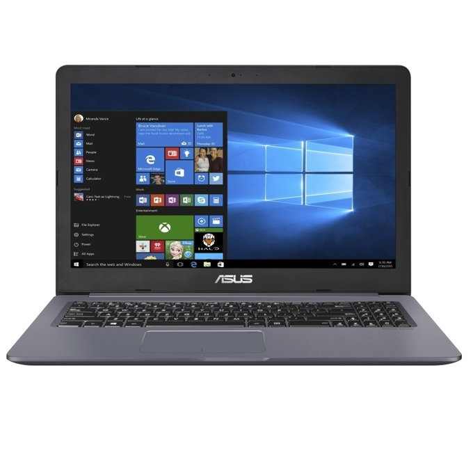 "Лаптоп Asus VivoBook Pro N580VD-FY543 (сив), четириядрен Kaby Lake Intel Core i5-7300HQ 2.5/3.5 GHz, 15.6"" (39.62 cm) Full HD Anti-Glare Display & GF GTX 1050 4GB, (HDMI), 8GB DDR4, 1TB HDD, 1x USB3.1 Type C, Linux image"