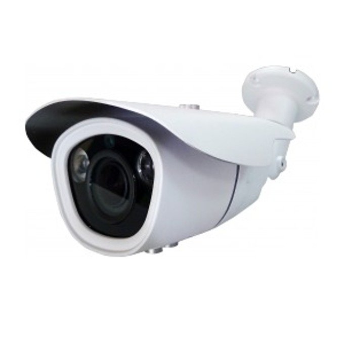 "TVI камера irLAN BOD-TVI1080VFSN40, насочена ""bullet"" камера, 2.4MPix(1080p), 2.8-12mm обектив, IR осветеност (до 40 m), за външен монтаж image"