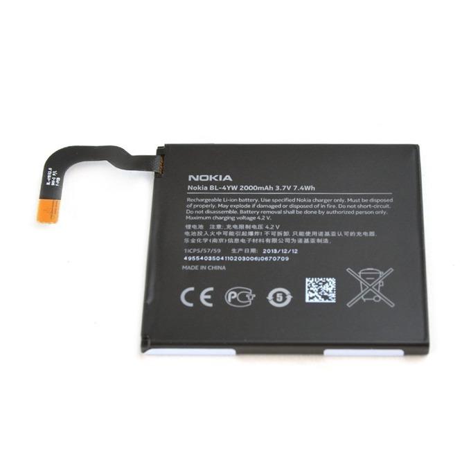 Батерия (оригинална) Nokia BL-4YW за Nokia Lumia 925, 2000mAh/3.7V, Bulk image