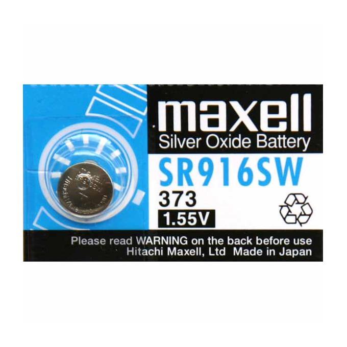 Батерия сребърна Maxell SR, SR916SW 1.55V, 1 бр.  image