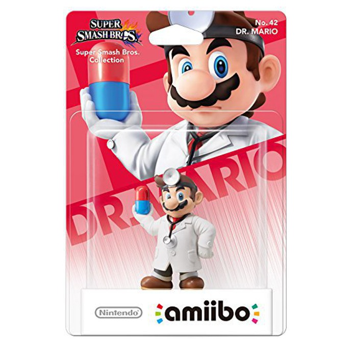 Nintendo Amiibo - Dr. Mario, за Nintendo 3DS/2DS, Wii U image