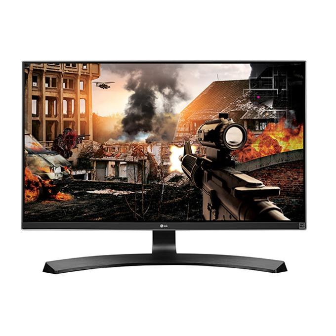 """Монитор LG 27UD68P-B, 27"""" (68.58 cm), IPS панел, 5ms, Ultra HD 4K, 1000:1, 300 cd/m², 2x HDMI, Display Port image"""