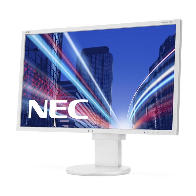 """Монитор NEC EA223WM, 22"""" (55.88 cm) TN панел, WSXGA+, 5 ms, 25,000:1, 250 cd/m2, DisplayPort, DVI, VGA image"""
