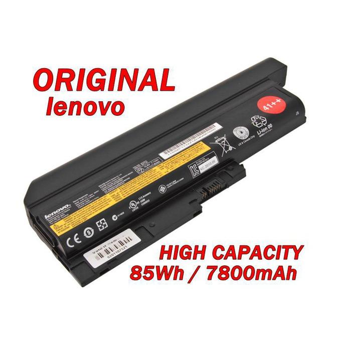Батерия (оригинална) IBM Lenovo Thinkpad T60, съвместима с R60/R61/T61/Z60/Z61 (без 14.1), 9cell, 10.8V  image