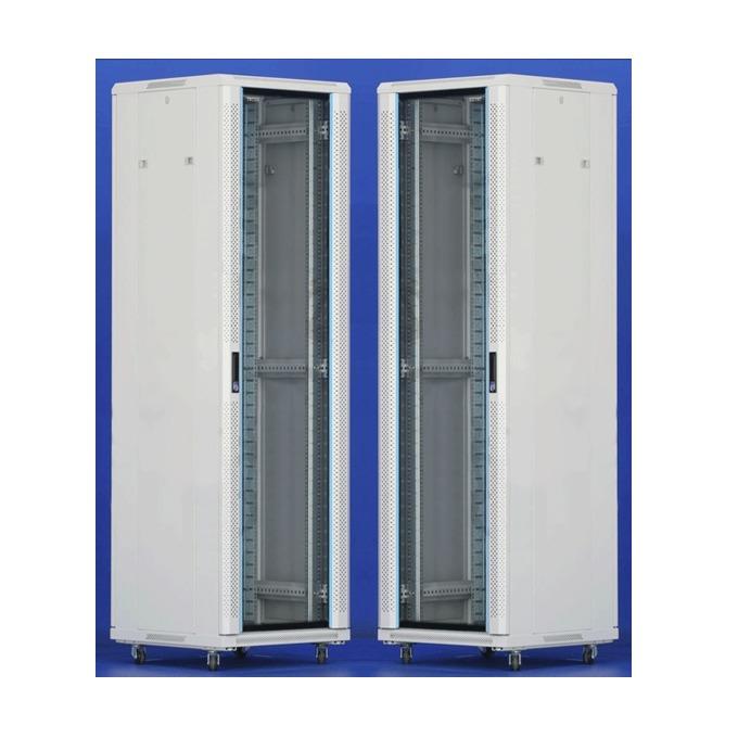 "Комуникационен шкаф Toten AS.6842, 19"", 42U, 600x800 мм, до 800кг товароносимост, IP20 защита image"
