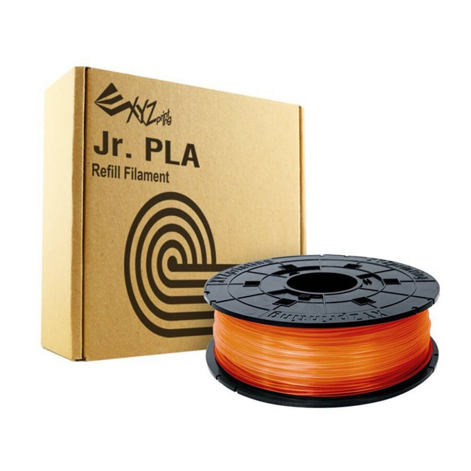 Консуматив за 3D принтер XYZprinting, PLA fillament, 1.75 mm, оранжев, 600 g image