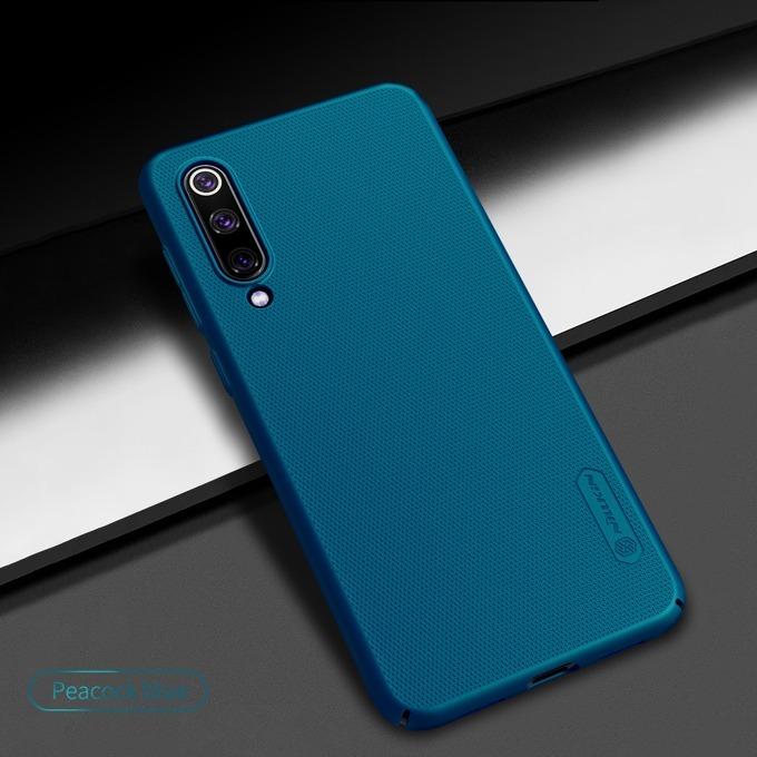 Калъф за Xiaomi Mi 9 SE, твърд гръб, Nillkin Frost Shield, светлосин image