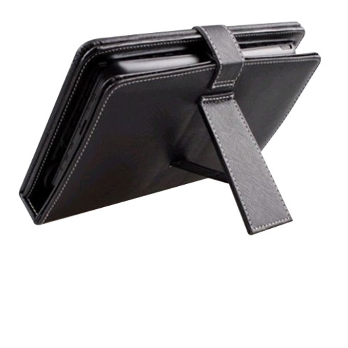 "Калъф Privileg MID7-002, за таблет до 7"" (24.6 cm), USB клавиатура, тип ""бележник"", черен image"