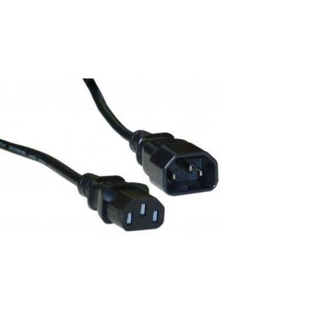 Удължителен захранващ кабел Fortron, от IEC320-C13(ж) към 3-Pin Socket(м) image