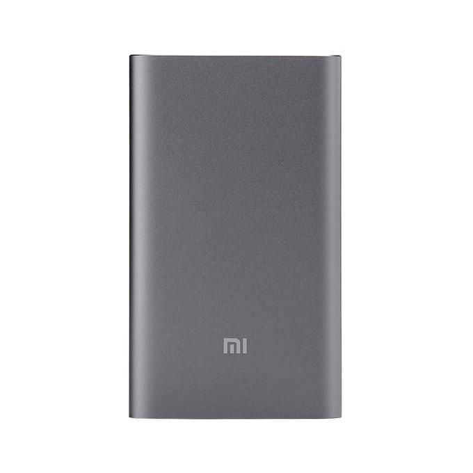 Външна батерия /power bank/ Xiaomi Mi Power Bank Pro, 10000mAh, 2.0A, USB Type A, USB Type C, сива image