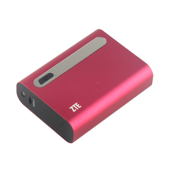 Външна батерия/power bank ZTE Power Cube P41, 4400mAh, USB, бордо image