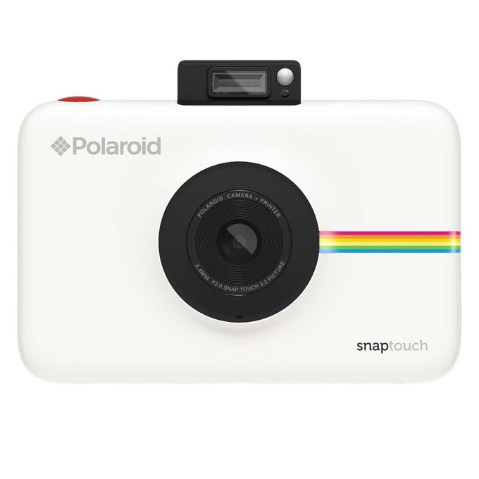 "Фотоапарат Polaroid SNAP TOUCH, 13.0 Mpix, 3.5"" (8.89cm) сензорен мулти-тъч дисплей, MicroSD слот, 1080p видео резолюция, Bluetooth, бял image"