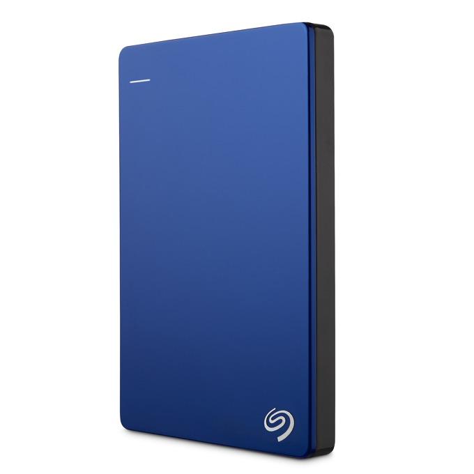 """Твърд диск 1TB Seagate Backup Plus Slim (син), външен, 2.5"""" (6.35 cm), USB3.0 image"""