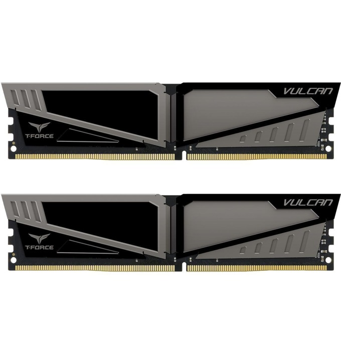 16GB (2x8GB) DDR4 3000MHz, Team Group T-Force Vulcan, TLGD416G3000HC16CDC01, 1.35V image