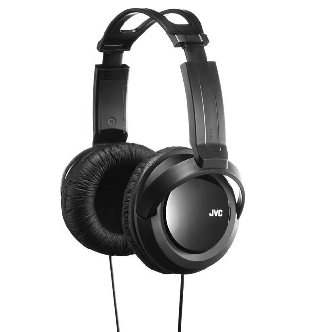 Слушалки JVC HA-RX330, мощен и дълбок бас, 40мм неодимови говорители, 2.5м кабел, черни image