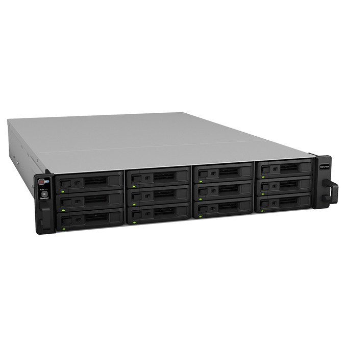 "Synology RXD1215SAS, Ultimate SAS & SATA Storage, 12 слота SATA3 2.5""/3.5"", 2x MiniSAS IN-port, 2x MiniSAS OUT-port image"