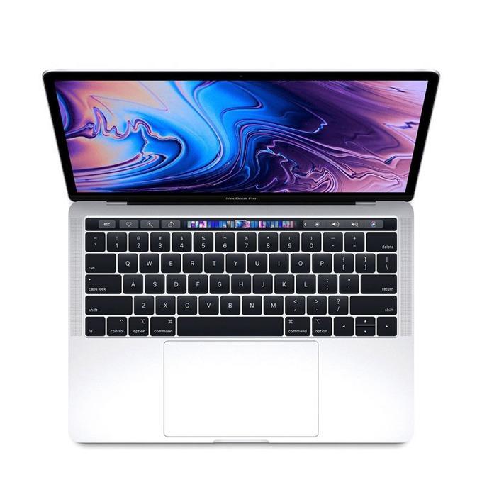 "Лаптоп Apple MacBook Pro 13 (MR9U2) Silver, 4-core i5 2.3/3.6GHz, 13.3"" (33.78 cm) Retina дисплей, 8GB DDR4, 256GB SSD, 4xUSB-C(Thunderbolt 3), macOS High Sierra, 1.37 kg, Touch Bar with Touch ID image"