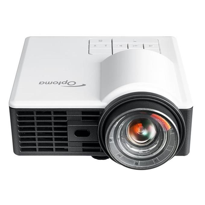 Проектор Optoma ML1050ST+, DLP, WXGA (1280x800), 20 000:1, 1000 lm, HDMI, VGA, microSD image
