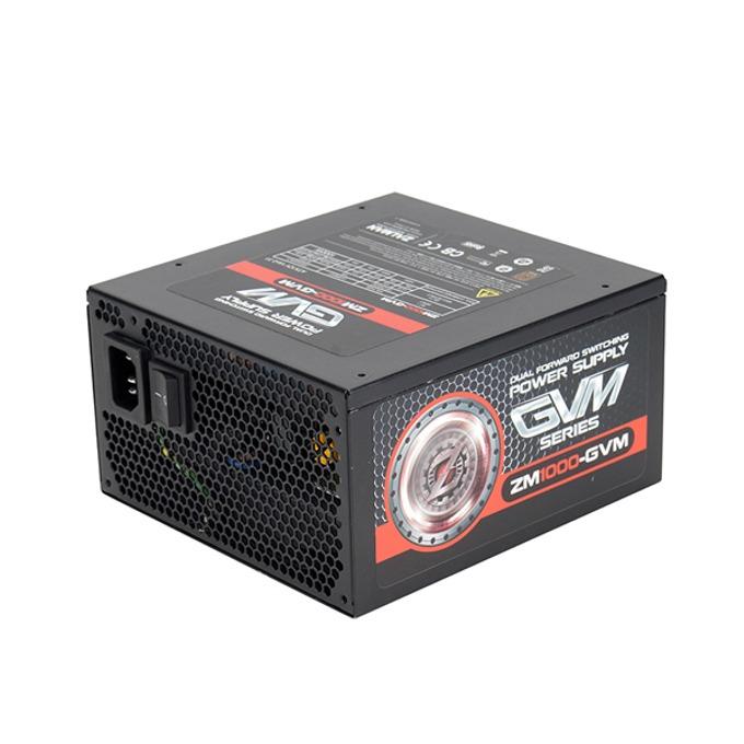 Захранване Zalman ZM1000-GVM, 1000W, Active PFC, 80+ Bronze, 120 мм вентилатор image