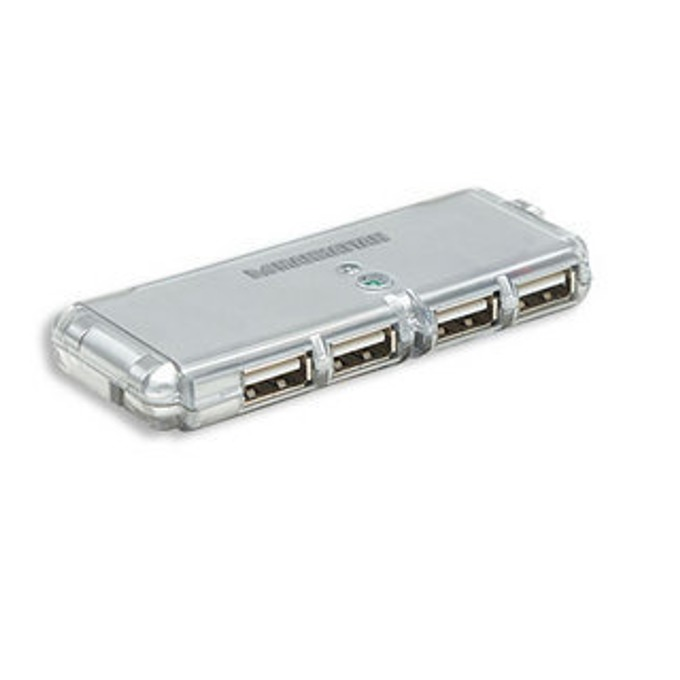 USB Хъб Manhattan 160599, 4 port, USB 2.0 image