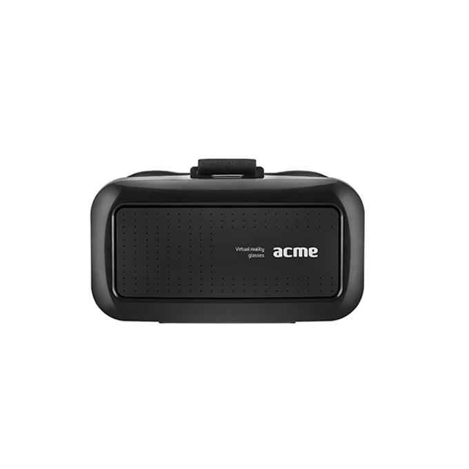 """Очила за виртуална реалност Acme VRB01, 90° зрителен ъгъл, съвместими със смартфони с диагонал от 4"""" до 6"""", черни image"""